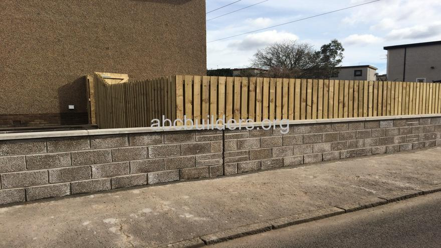 Front Wall and Fence